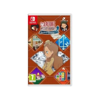 Layton's Mystery Journey: Katrielle and the Millionaires' Conspiracy Deluxe Edition – Nintendo Switch Game