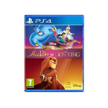 Disney Classic Games Aladdin and The Lion King – PS4 Games
