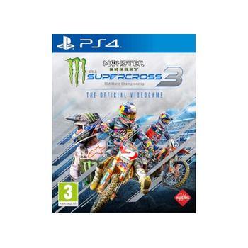 Monster Energy Supercross 3 – PS4 Game