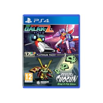 Galak-Z: The Void & Skulls Of The Shogun Bone A-Fide Platinum Pack – PS4 Game