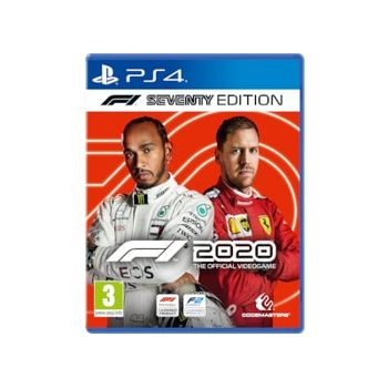 F1 2020 Seventy Steelbook Edition – PS4 Game