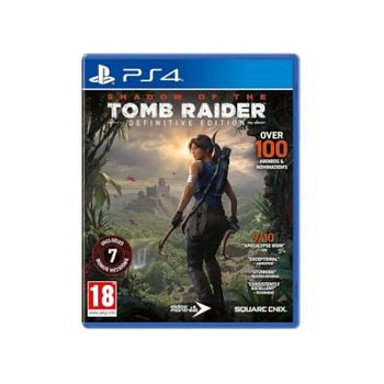 Shadow of the Tomb Raider Definitive Edition – PS4 Game