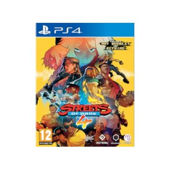 Streets Of Rage 4 – PS4 Game