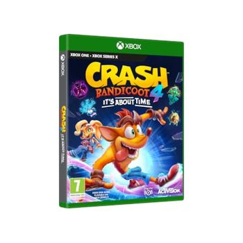 Crash Bandicoot 4: It's About Time – Xbox One Game