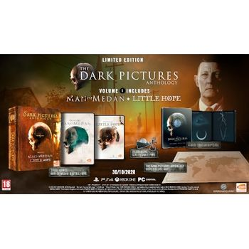 The Dark Pictures: Volume 1 Limited Edition – PS4 Game