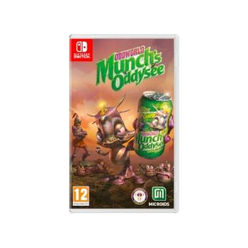 Oddworld: Munch's Oddysee – Nintendo Switch Game