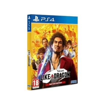 PS4 Game – Yakuza Like a Dragon Day Ichi Steelbook Edition