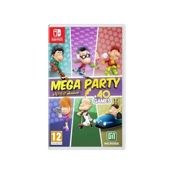 Mega Party: A Tootuff Adventure – Nintendo Switch Game