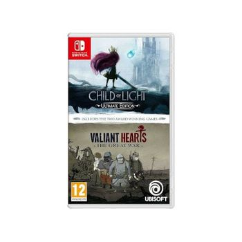 Child Of Light And Valiant Hearts – Nintendo Switch Games