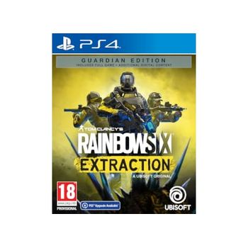 PS4 Game – Rainbow Six : Extraction Guardian Edition