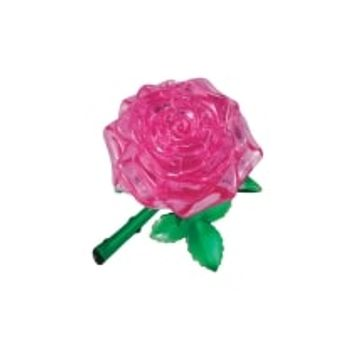 3D Παζλ Τριαντάφυλλο Ροζ (44 Κομμάτια)