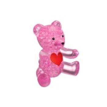 3D Παζλ Αρκουδάκι Ροζ (41 Κομμάτια)