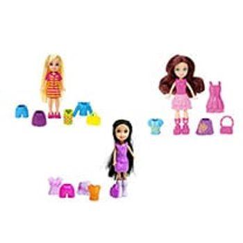 Κούκλα Μίνι Polly Pocket με Ρούχα (1 Τεμάχιο)