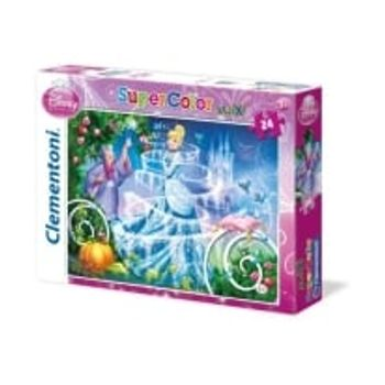 Παζλ Σταχτοπούτα Super Color Disney (24 Maxi Κομμάτια)