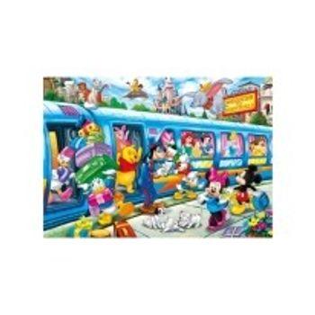Παζλ Super Color Disney Train (104 Κομμάτια)
