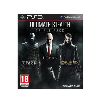 Ultimate Stealth Pack (Thief & Hitman Absolution & Deux Ex) – PS3 Game