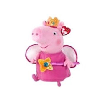 Λούτρινο Peppa Pig Πριγκίπισσα 23cm TY Beanie Boos