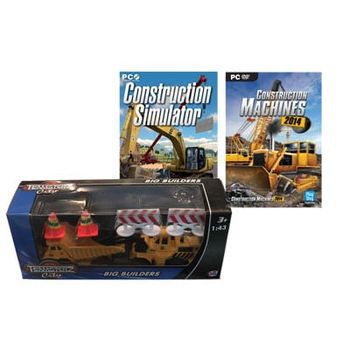 Construction Simulator & Construction Machines 2014 & Toy Model – PC Game