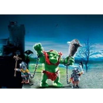PLAYMOBIL 6004 Ξωτικό-Γίγαντας και Μαχητές-Νάνοι