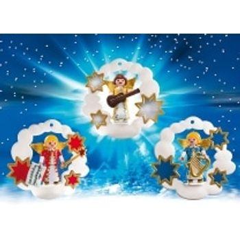 PLAYMOBIL 5591 Χριστουγεννιάτικα Στολίδια – Αγγελάκια