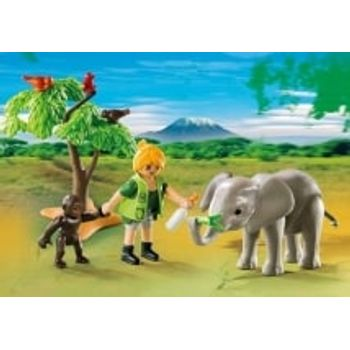 PLAYMOBIL Βαλιτσάκι Ζωάκια Αφρικής (5628)