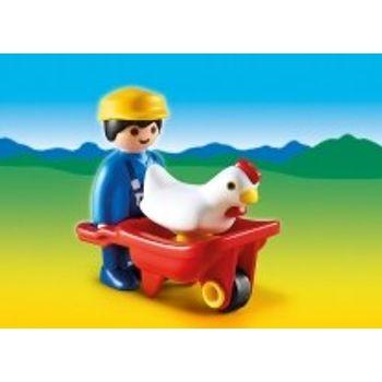 PLAYMOBIL 6793 Αγρότης και Κάρο