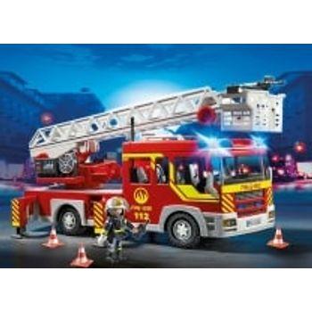 PLAYMOBIL 5362 Πυροσβεστικό Όχημα με Τηλεσκοπική Σκάλα