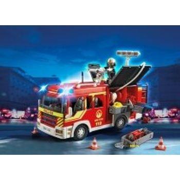 PLAYMOBIL 5363 Πυροσβεστικό Όχημα με Φάρο και Σειρήνα
