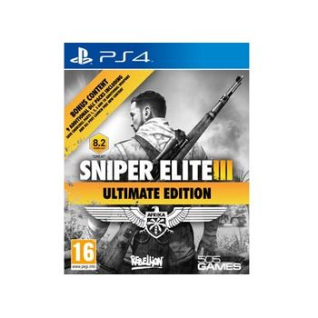 Sniper Elite 3 Ultimate Edition – PS4 Game