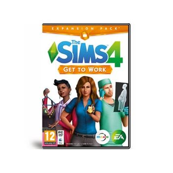 The Sims 4 Get to Work – Expansion Pack – PC Game