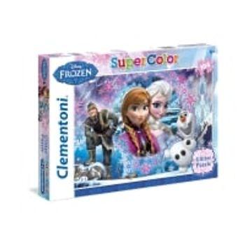 Παζλ Frozen Frozen Glitter Super Color Disney (104 Κομμάτια)