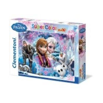 Παζλ Frozen Βασίλισσα του Βουνού Super Color Disney (104 Maxi Κομμάτια)