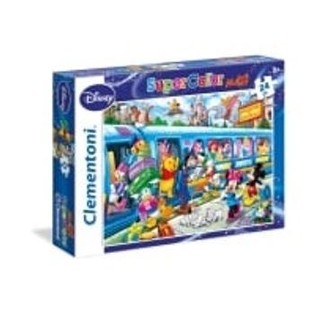 Παζλ Train Super Color Disney (24 Maxi Κομμάτια)