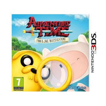 Adventure Time – Finn and Jake Investigations – 3DS/2DS Game