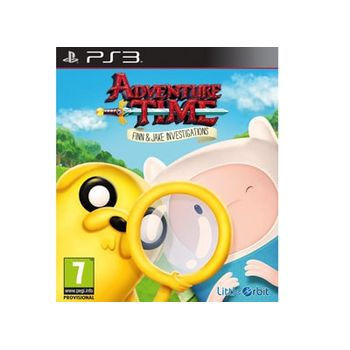 Adventure Time – Finn and Jake Investigations – PS3 Game