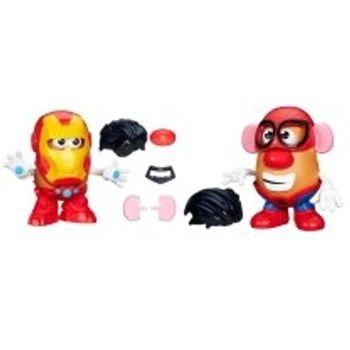 Μίνι Φιγούρα Κύριος Πατάτα Spiderman and Ironman (1 Τεμάχιο)