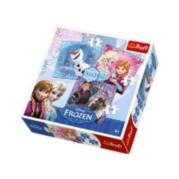 Παζλ Frozen Land Heroes (20/36/50 Κομμάτια)