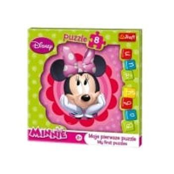 Παζλ Minnie Fun Baby (8 Κομμάτια)