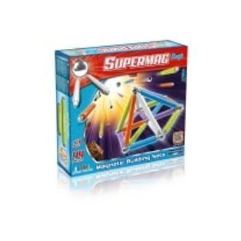 Σετ Κατασκευής Supermag Neon Color Maxi Magnetic Building Sets (44 κομμάτια)