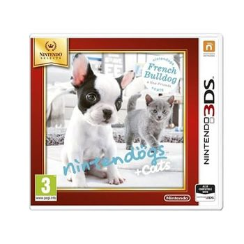 Nintendogs + Cats: French Bulldog and New Friends Selects – 3DS/2DS Game