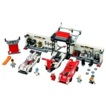 LEGO® Porsche 919 Hybrid και 917K Pit Lane