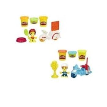 Town Σετ Φιγούρα Με Μίνι Όχημα Play-Doh