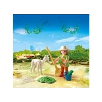 PLAYMOBIL 4944 Φύλακας Ζωολογικού Κήπου με Λάμα