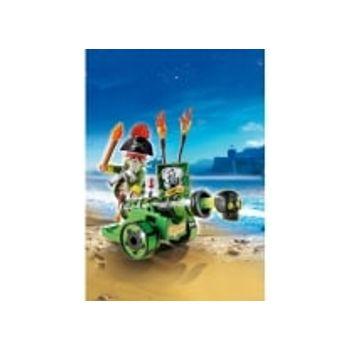 PLAYMOBIL 6162 Πράσινο Κανόνι με Καπετάνιο Πειρατή