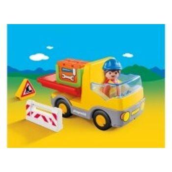 PLAYMOBIL 6960 Φορτηγό με Ανατρεπόμενη Καρότσα