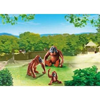 PLAYMOBIL 6648 Οικογένεια Ουρακοτάγκων