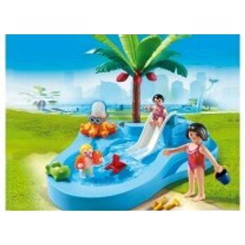PLAYMOBIL 6673 Πισίνα για Μωρά με Τσουλήθρα