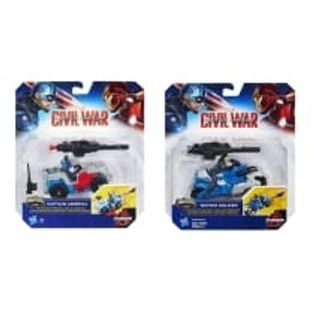 Φιγούρα Captain America Combat Racers 6.35cm (1 Τεμάχιo)