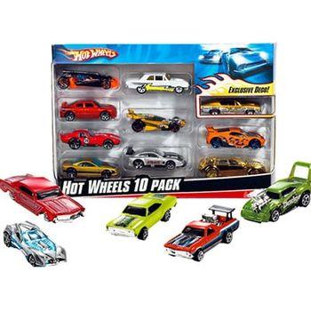 Αυτοκινητάκια Hot Wheels (Σετ με 10 Τεμάχια)