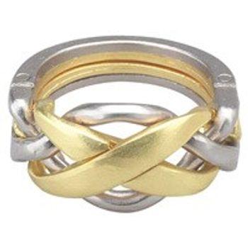 Γρίφος Cast Silver Ring